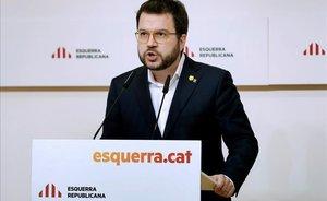 Elvicepresidente del Govern, Pere Aragonès.