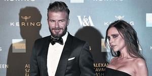 David y Victoria Beckham, una pareja habitual en los rankings.
