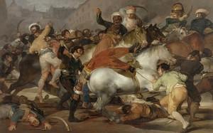 'El dos de mayo de 1808. La carga de los mamelucos', de Goya.