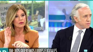 """Eduardo Inda indigna a los colaboradores de Ana Rosa: """"Jamás he visto que una mujer gane menos"""""""