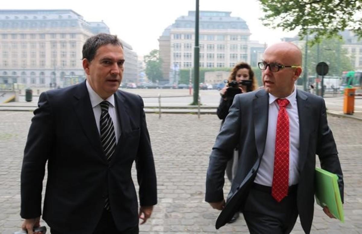 Els advocats de Puigdemont Jaume Alonso-Cuevillas y Gonzalo Boye