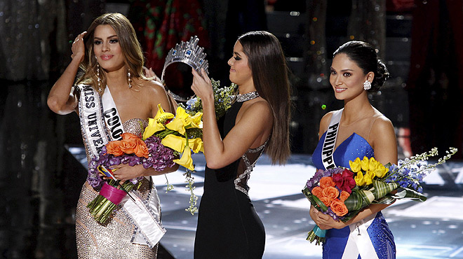 Miss Colombia, las más bella por dos minutos
