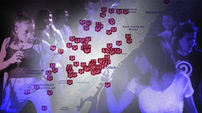 El mapa interactivo de los otros escenarios posibles