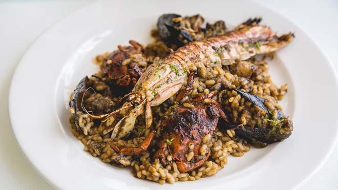 España, el país más saludable del mundo. En la foto, un plato de paella.