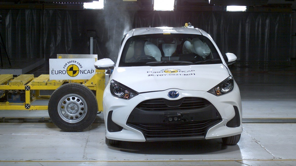 Euro NCAP concede las cinco estrellas al nuevo Toyota Yaris