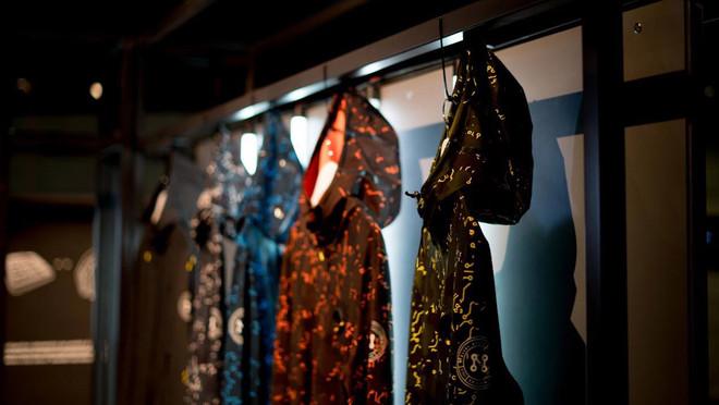 Exposición de los modelos de wereables de Machina.
