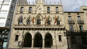 Fachada del ayuntamiento de Terrassa, el municipio de Catalunya más grande del AMI.