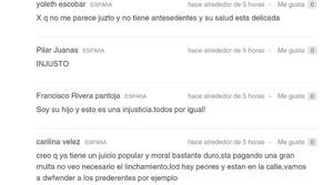 La firma de Kiko Rivera en la petición de Change.org.