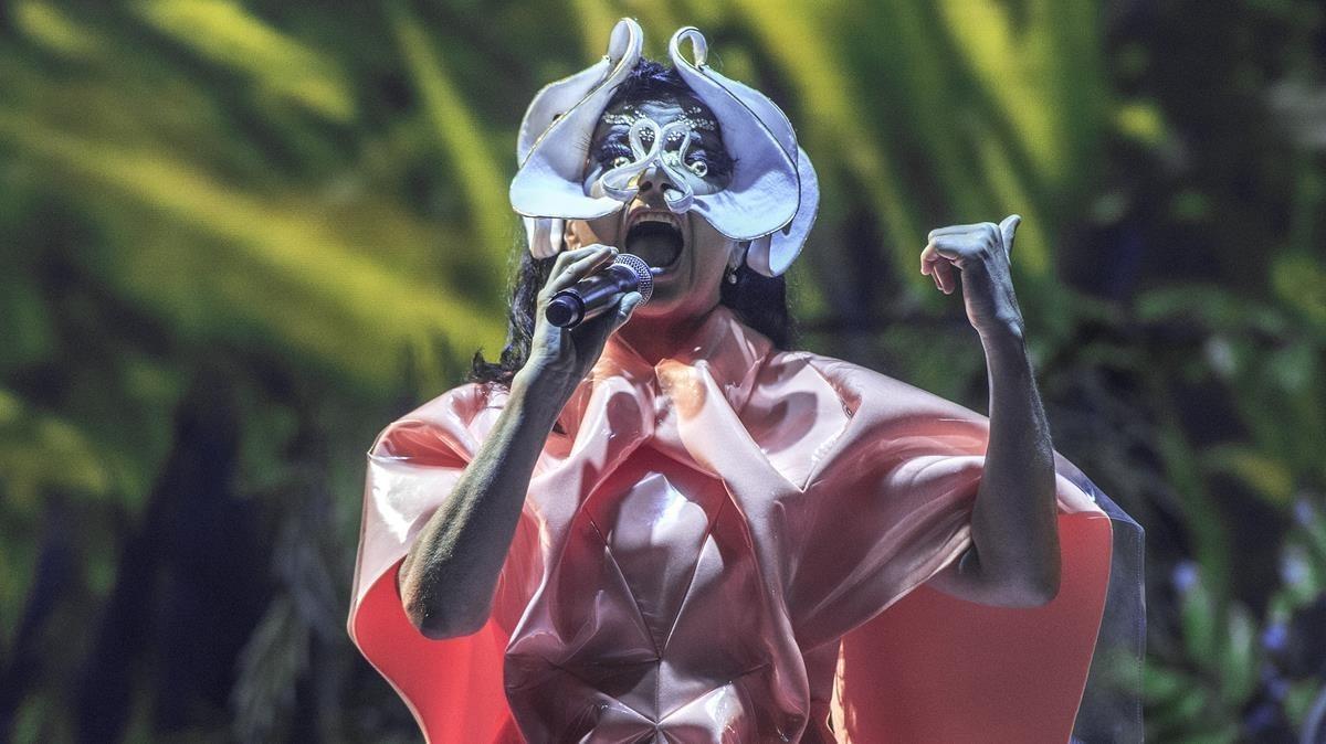 Concierto de Björk en el Primavera Sound 2018