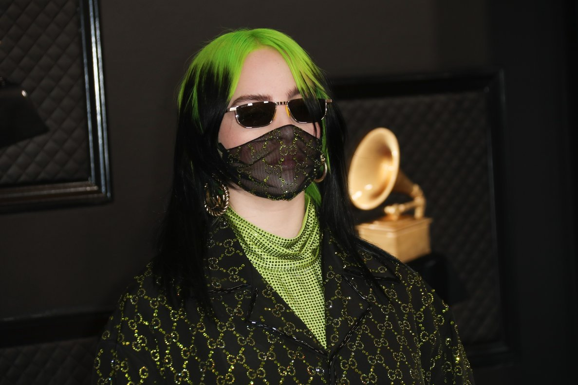 January 26, 2020 - Los Angeles, California, United States:: Billie Eilish arriving at the 62nd GRAMMY Awards at STAPLES Center in Los Angeles, CA.(Allen J. Schaben / Los Angeles Times / Polaris)