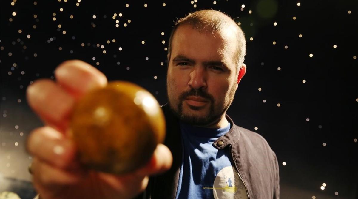 Guillem Anglada,profesor de la Universidad Queen Mary de Londres. Lidera el grupo que descubrióPróxima b,el planeta potencialmente habitable mas cercano a la Tierra.