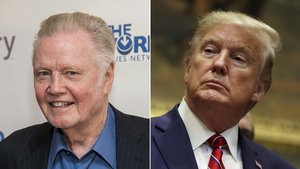 Jon Voight y Donald Trump.