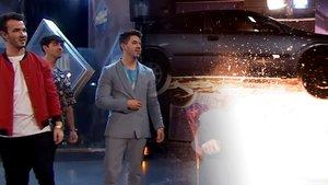 """El reto más peligroso de 'El hormiguero' que impactó a los Jonas Brothers: """"¿Está bien?"""""""