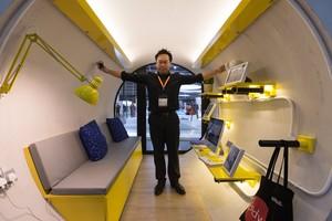 Jonathan Kong, el creador de las casas-tubería.