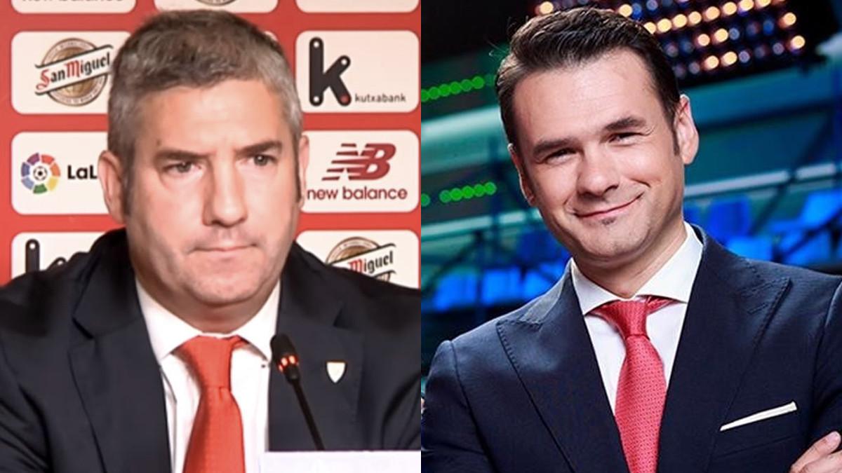 Josu Urrutia e Iñaki López.