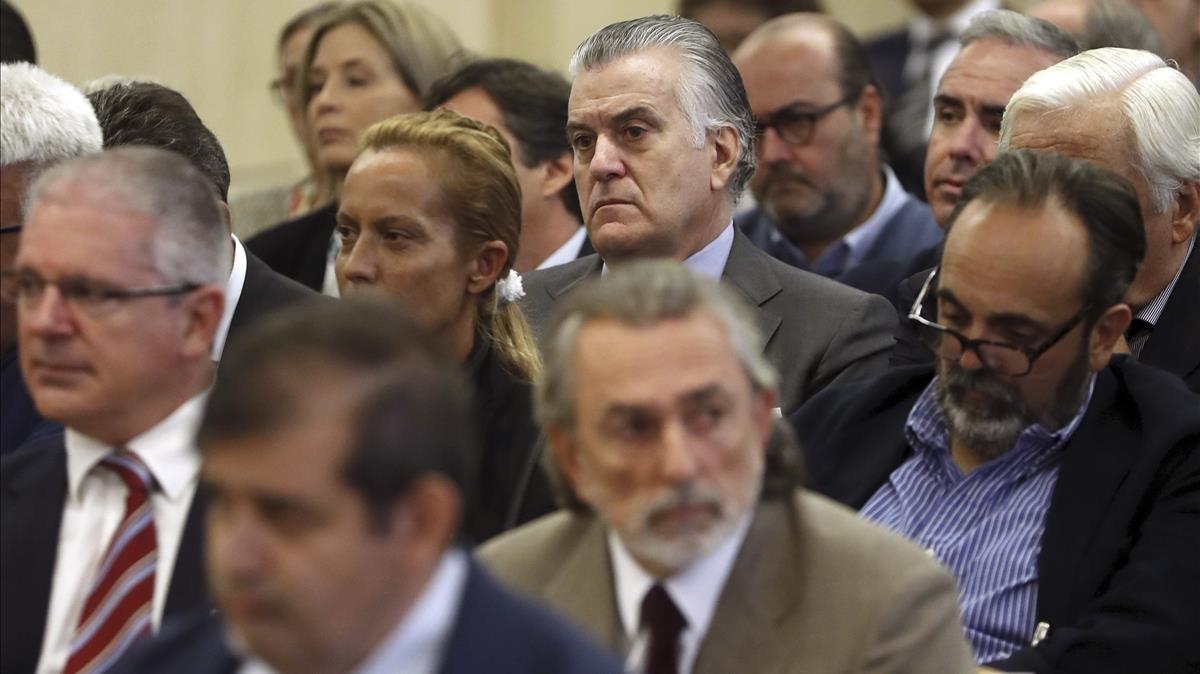 Imagen correspondiente al inicio del juicio al caso Gürtel.