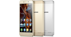 El 'smartphone' de Lenovo Vibe K5.