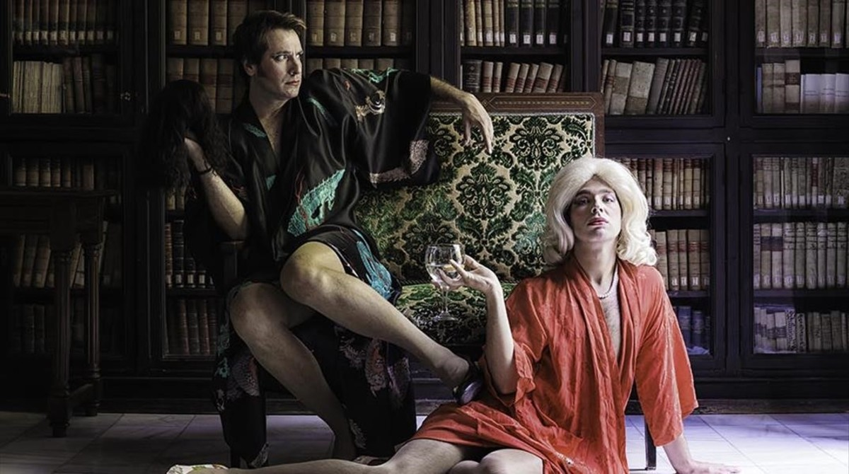 Ricard Farré (izquierda) y Enric Cambray en 'Les dones sàvies', de Molière.