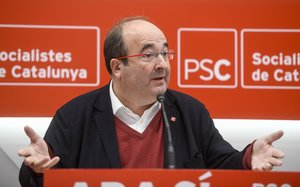 El líder del PSC, Miquel Iceta, en una imagen de archivo.