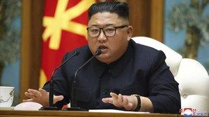 El líder norcoreano Kim Jong Un.