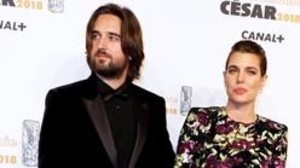 Carlota Casiraghi y Dimitri Rassam, el pasado 2 de marzo en los premios César.