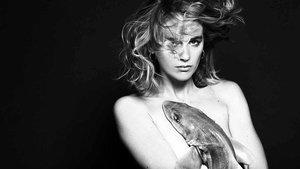 La actriz y modelo Cressida Bonas, en la campaña de Fishlove.