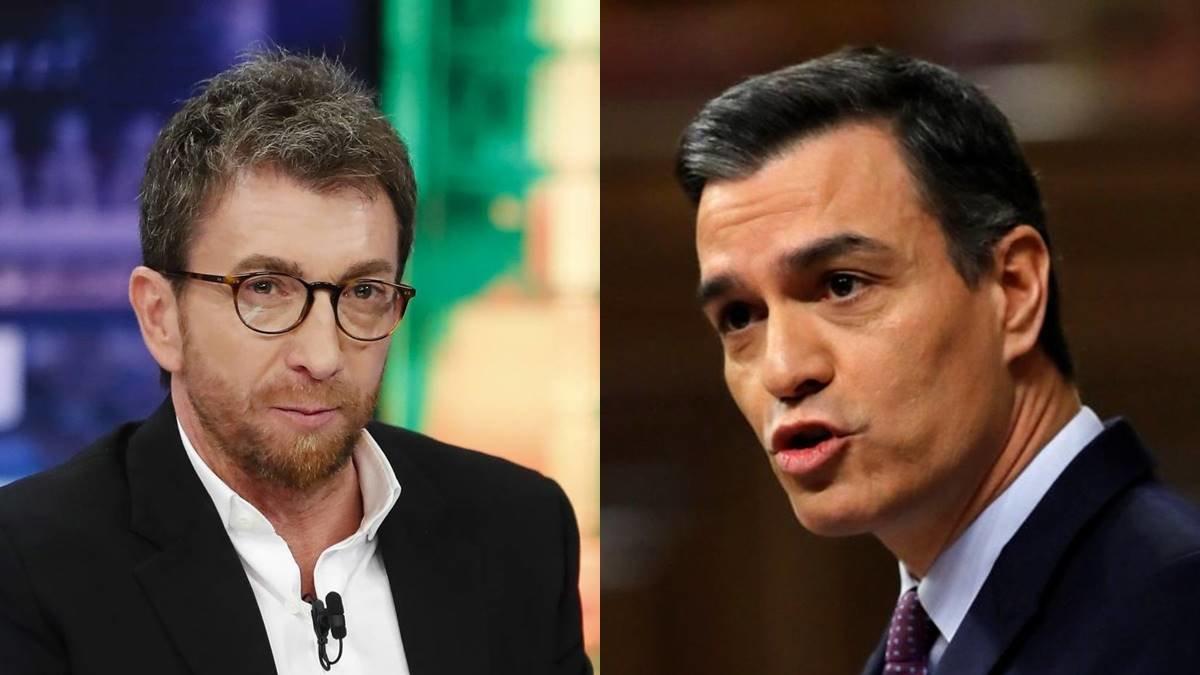 """Pablo Motos, más crítico que nunca con Pedro Sánchez: """"Ha sobrevivido engañando a todo el mundo"""""""
