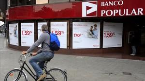 El jutge Andreu investigarà el Banco Popular, a l'admetre tres querelles