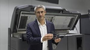 HP dissenya a Sant Cugat la primera impressora 3D preparada per a la producció del món