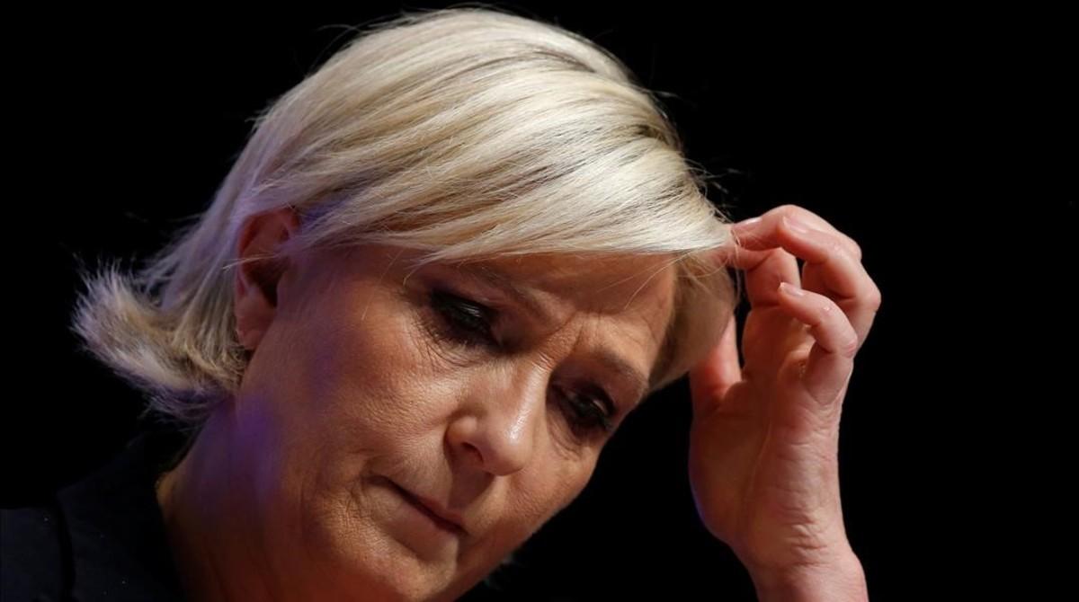 Marine Le Pen.