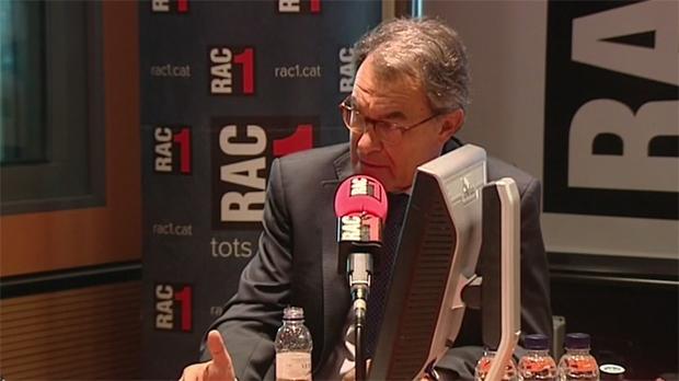Mas ha destacat que el sobiranisme català respon amb mobilització i civisme a un Estat de repressió policial.