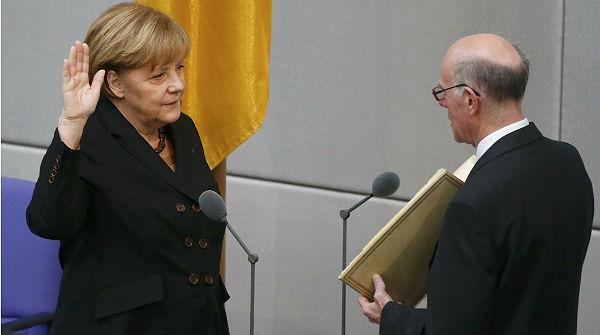 Merkel regirá el destino de Alemania cuatro años más