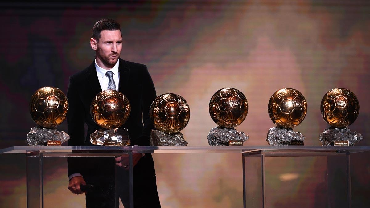 Messi conquista su sexto Balón de Oro.