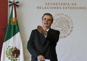 El canciller mexicano, Marcelo Ebrard.