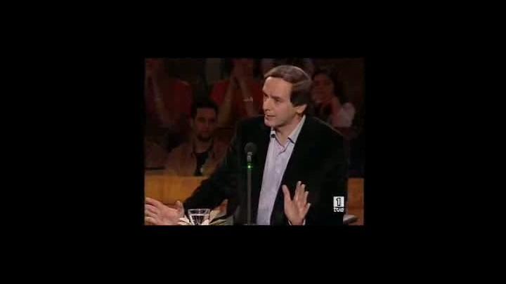 Miguel Ángel Rodriguez llama nazi al doctor Montes en '59 segundos'.