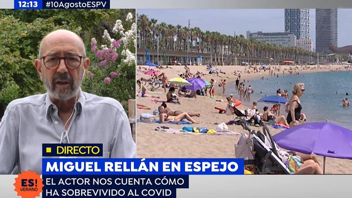 """Miguel Rellán, a quienes no se toman en serio el coronavirus: """"Los llevaba a meter cadáveres en ataúdes"""""""