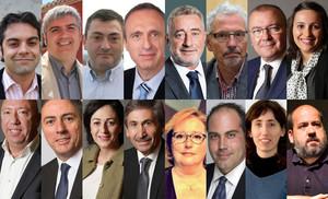 Els setze senadors catalans