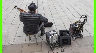 El hombre que simulaba ser músico