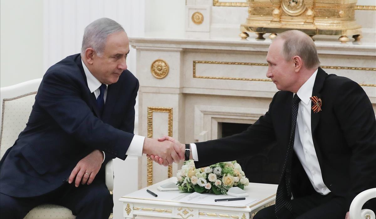 Netanyahu y Putin, esta semana en el Kremlin.