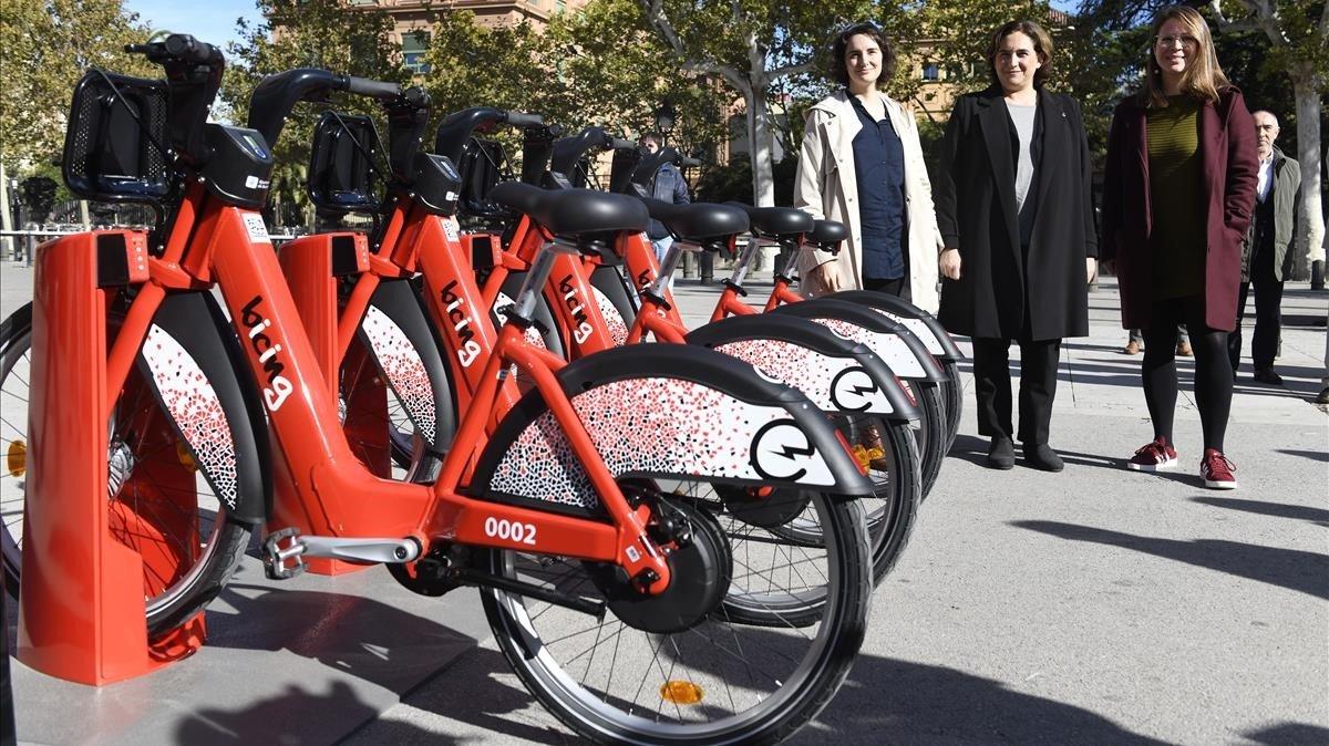 Los nuevos modelos de bicicletas para el Bicing.