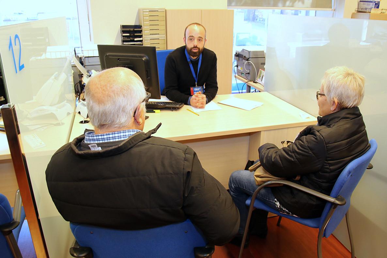 Oficina de atención ciudadana del Ayuntamiento de Sant Boi.