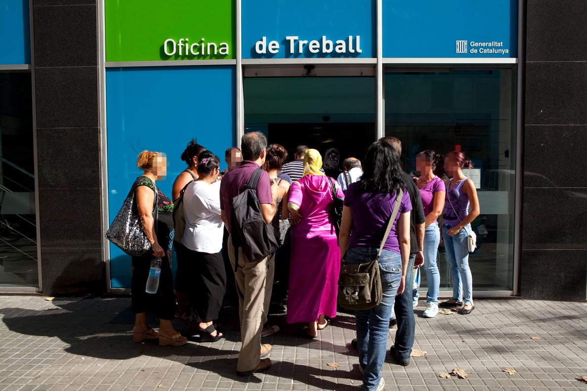 La afiliaci n a la seguridad social creci en mayo en 223 for Oficina treball barcelona