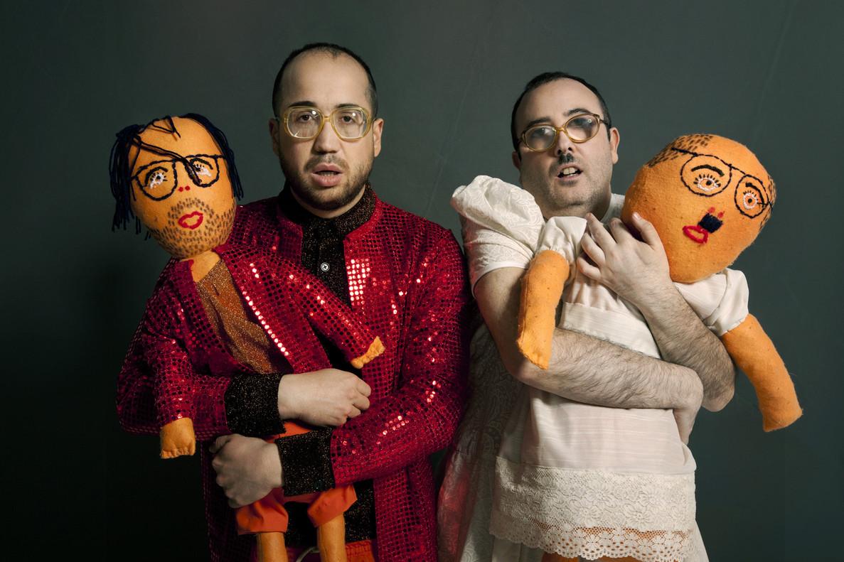 Los integrantes de Ojete Calor, Aníbal Calor y Carlos Ojete