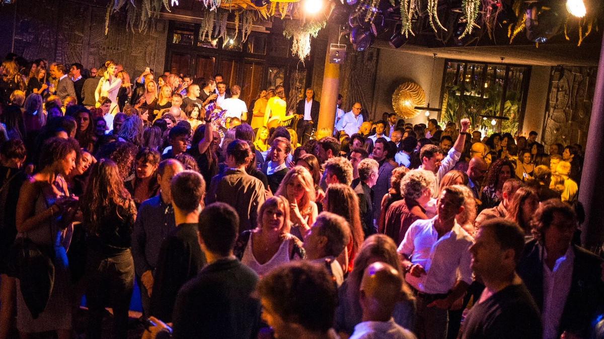 Imagen de la fiesta de inauguración del Papillon Club, el pasado 26 de mayo.