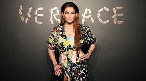 Paris Jackson posa en el desfile de Gianni Versace, el pasado 2 de diciembre.