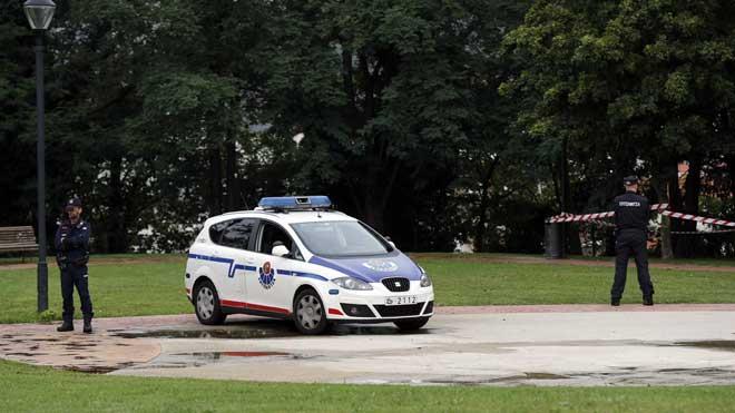 El parque de Etxebarria, en Bilbao, donde se ha producido la violación grupal a una chica de 18 años.