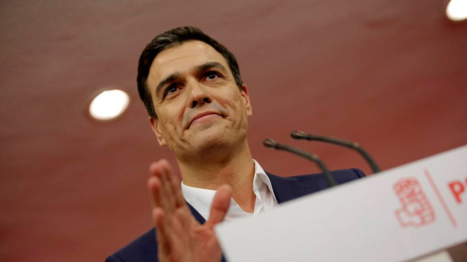 El Partido Socialista ha conseguido 90diputados en el Congreso.