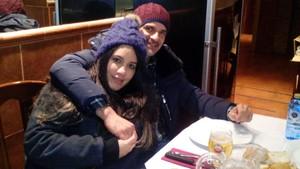 Imagen de la pareja asesinada, colgada en el perfil de Faceboock de la mujer.