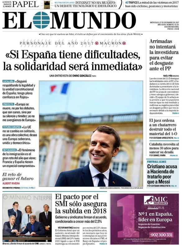 La antiindependentista Tabarnia hace fortuna en la prensa de Madrid