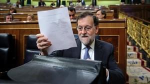 El presidente del Gobierno central, Mariano Rajoy.